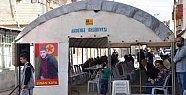 Ölen PKK'lı İçin Akdeniz Belediyesi Taziye Çadırı Kurdu
