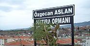 Özgecan Aslan'ın İsmi Erzin'deki Hatıra
