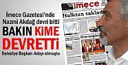 Sinan Koç İmece Gazetesini Satın Aldı