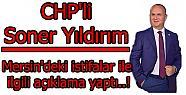 Soner Yıldırım CHP'deki İstifalarla