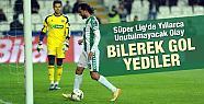 Süper Lig'de Bir İlk! Bilerek