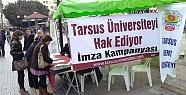 Tarsus'a Üniversite Kurulması İçin İmza Kampanyası Başlatıldı