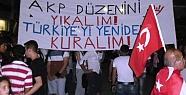 Tarsus'ta Eylemler Gece-Gündüz Sürüyor