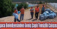 Taşucu Belediyesinden Geniş Çaplı Temizlik Çalışması