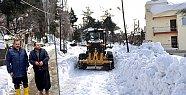 Toroslar'da Kardan Kapanan Yollar Açılıyor