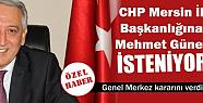 Yeni CHP İl Başkanı Mehmet...