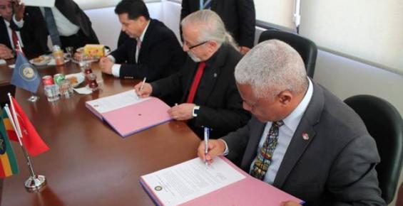 Toros Üniversitesi ile Etipyo Arasında Anlaşma İmzalandı