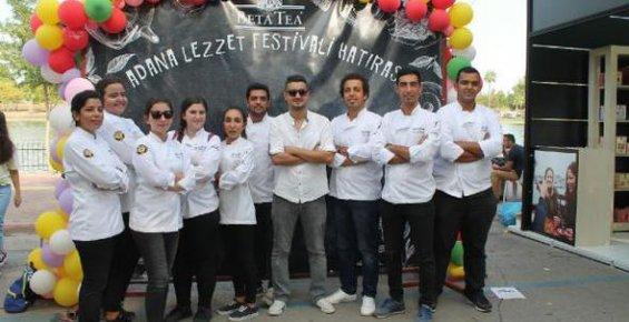 Toros'un aşçıları Lezzet Festivali'nde hünerlerini sergiledi