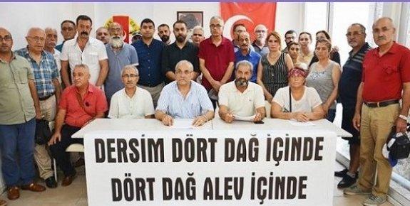 Tunceli'de PKK'ya Yapılan Operasyonlarda Çevre Dokusuna Zarar Verilmesine Tepki