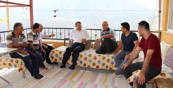 """Turgut: """"Hizmetlerimiz Sayesinde Köylere Rağbet Arttı"""""""