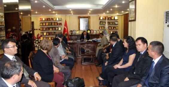 Türkav'dan Başkan Tuna'ya Ziyaret