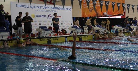Turkcell Açık Yaş Yüzme Şampiyonası Mersin'de Yapılıyor