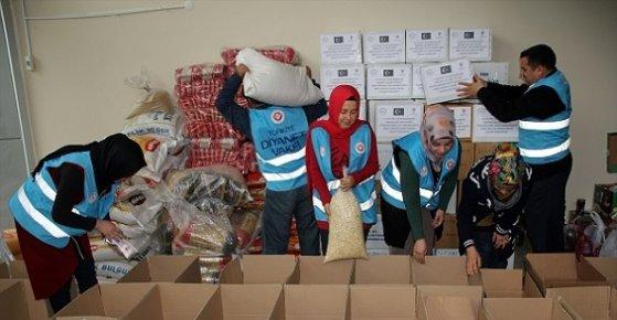 Türkiye Diyanet Vakfı Erdemli Şubesi'nden Yardım Kampanyası