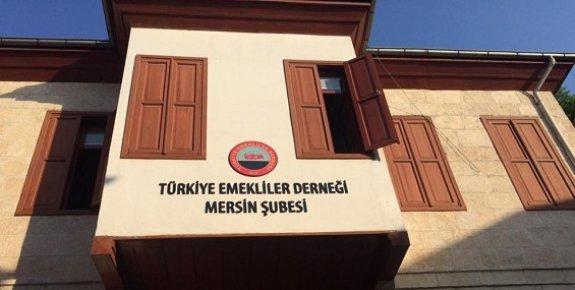 Türkiye Emekliler Derneği Mersin Şubesi Yeni Hizmet Binasında