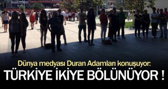 Türkiye İkiye Bölünüyor