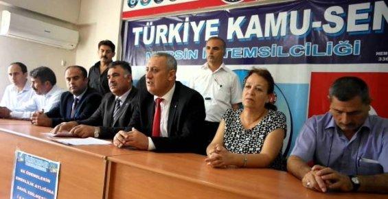 Türkiye Kamu-Sen Mersin İl Temsilciliği Mücadelemiz Sürecek