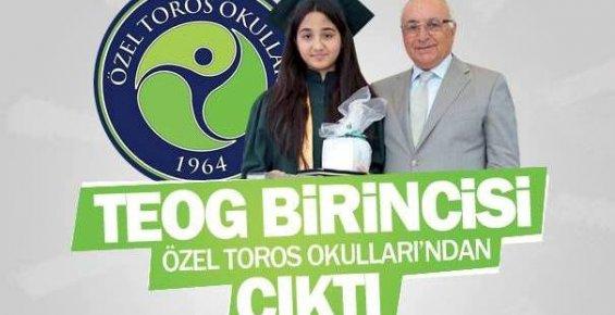 Türkiye TEOG Birincisi Mersin'den Çıktı