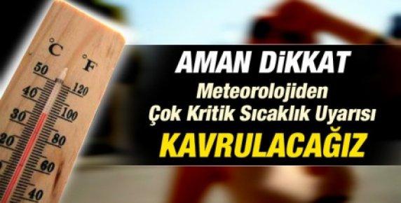 Türkiye'ye Kritik Sıcaklık Uyarısı: Kavrulacağız