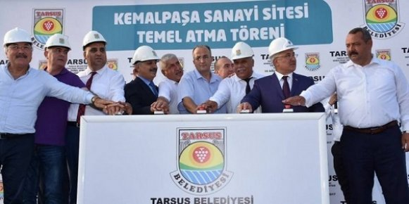 Türkiye'ye Örnek Olacak Kemalpaşa Sanayi Sitesi'nin Temeli Atıldı