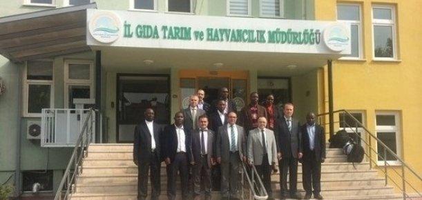 Ugandalı Tarım Uzmanlarına Mersin'de Eğitim