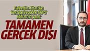 'Erdoğan'la Görüşen CHP'li' Açıklaması: Tamamen Gerçek Dışı