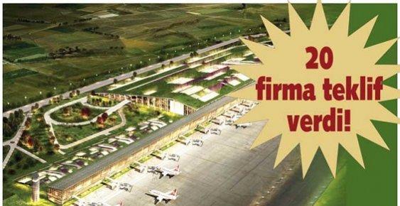Uyanık Müteahhit Firmaların Gözü Mersin'deki Havaalanı İhalesinde