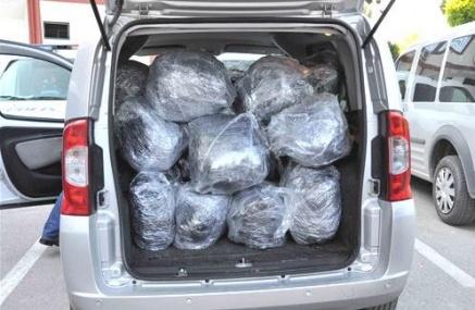 Uyuşturcudan Girdiği Ceza Evinden Yeni Çıktı, 131 Kilo Esrarla Yakalandı