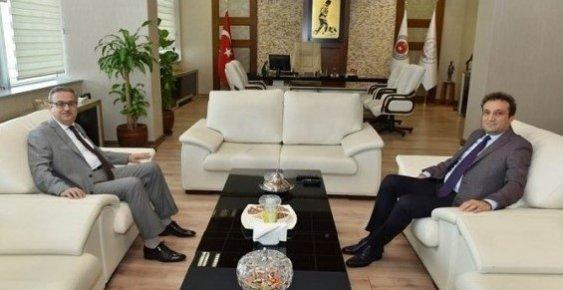 Vali Su'dan, Cumhuriyet Başsavcısı Ve Baro Başkanına Ziyaret