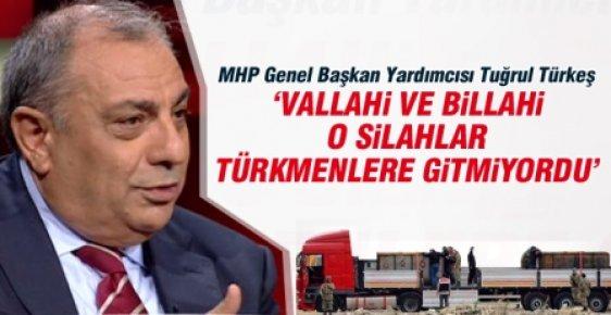 """""""Vallahi ve Billahi O Silahlar Türkmenlere Gitmiyordu"""""""