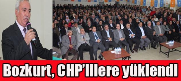 Vekil CHP'ye Yüklendi