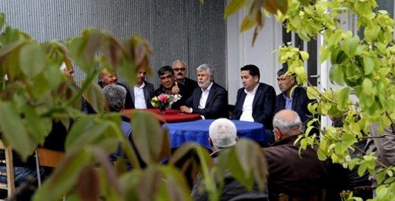 Vekil Tezcan ve Başkan Gültekin Mezitli'yi Karış Karış Gezdi