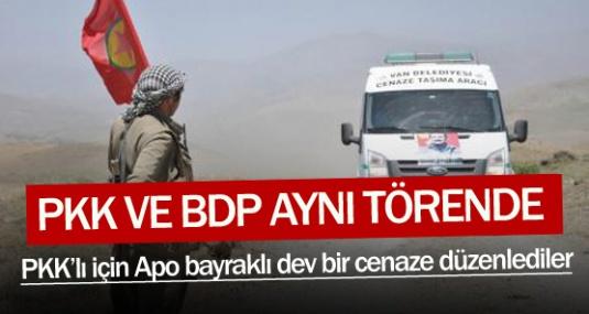 Vekil ve PKK'lılar aynı törende !