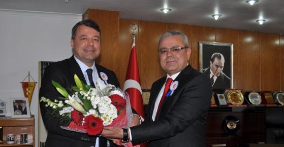 Vergi Dairesi Küdürü Şengül'den Başkan Turgut'a Ziyaret