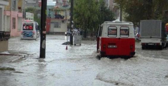 Yağmur Silifke'yi Etkiledi