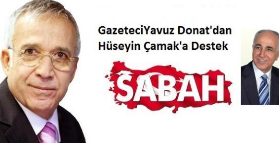 Yavuz Donat'dan Doktor Hüseyin Çamak'a Destek