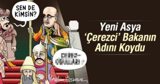 Yeni Asya'dan Bakan Şimşek'e Karikatürlü 'Çerez' Göndermesi