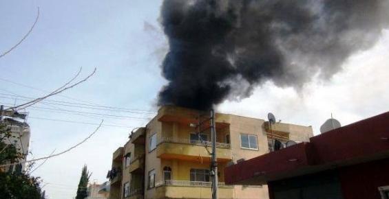 Yenişehir İlçesinde Sigara İzmariti Yağ Tankını Tutuşrurdu