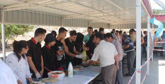 Yüksekokulda Gastronomi Etkinliği