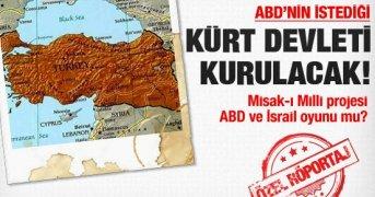 Bomba Kürt Devleti Kurulacak İddiası