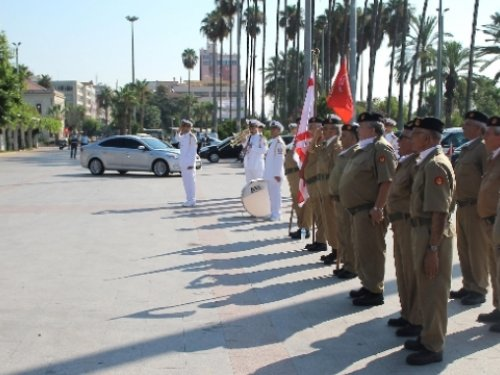 Kıbrıs Barış Harekatı'nın 40.Yıl Dönümü Dolayısıyla Tören Düzenlendi